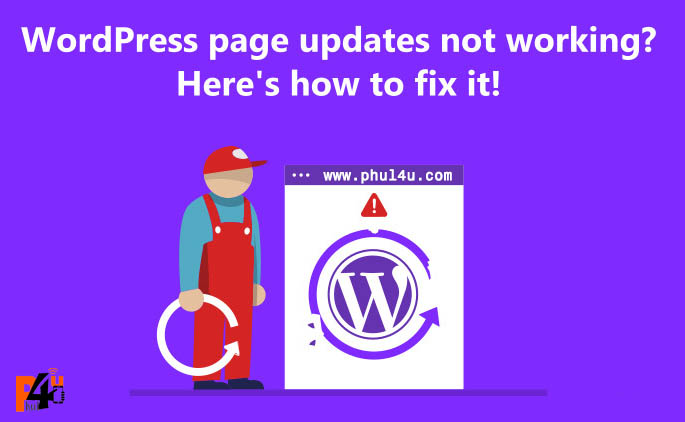 WordPress update failed WordPress version not updating