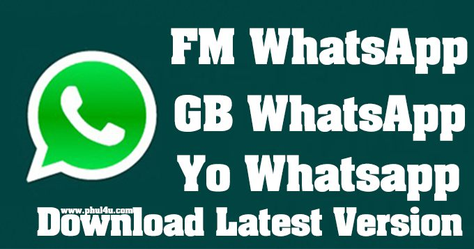 FM WHATSAPP V8.35 ANTI-BAN LATEST VERSION DOWNLOAD Phul4u