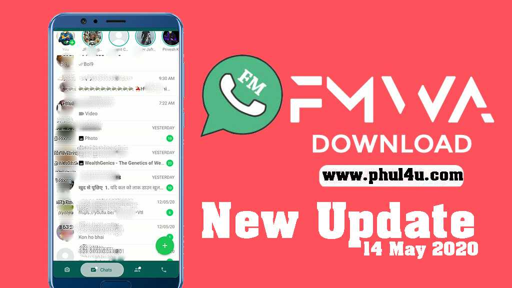 FMWhatsapp Phul4u APK v8.31 Download Latest Version (Anti-Ban) 2020